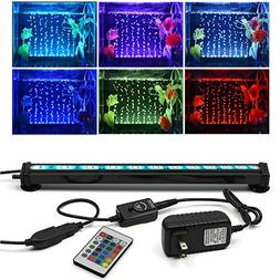 SZMiNiLED LED Aquarium Bubble Lights, 11.8inch/30cm Fish Aqu