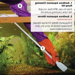 Aquarium Cleaner Gravel Vacuum Fish Tank Siphon Pump for Cha