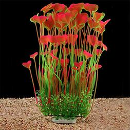 QUMY Aquarium Decor Fish Tank Decoration Ornament Artificial