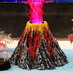 Aquarium Decorations, Air Stone Bubbler Volcano Shape Orname