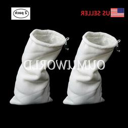 Aquarium Filter Bags Polyester Drawstring Magic Felt Socks