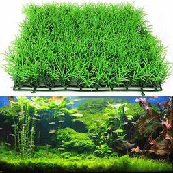 Aquarium Fish Tank Accessories Decor Green Grass Artificial