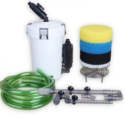Aquarium Fish Tank External Filter Water Pump HW-603B 602B H