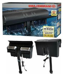 Aquarium Fish Tank Filter Marineland Emperor 400 Power 80 Ga