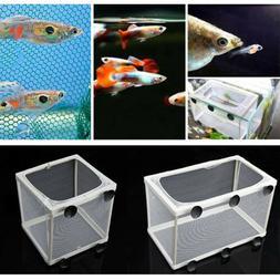 Aquarium Fish Tank Guppy Breeding Breeder Baby/Fry Net Trap