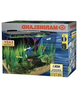 Marineland Aquarium Fish Tank Kit 3 Gallon LED Lights System