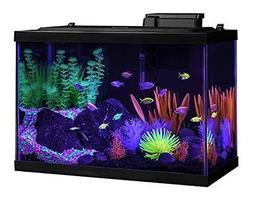 Aquarium Fish Tank Kits, Glofish 20 Gallon, Includes LED Lig