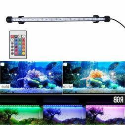 Aquarium Fish Tank RGB LED Light Submersible Waterproof Bar