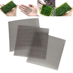 Aquarium Fish Tank Stainless Steel Wire Mesh Pad Plants Moss