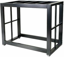 New Aquarium Fish10 Gallon Black Tank Stand Solid Steel Weld