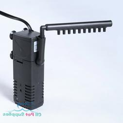 Aquarium Internal Filter 3-in-1 Multi-Function Pump 40 Gallo