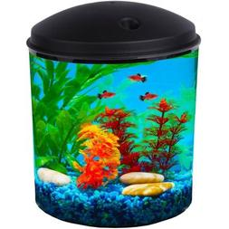 Hawkeye 2-Gallon Aquarium Kit with Filter and LED Lighting