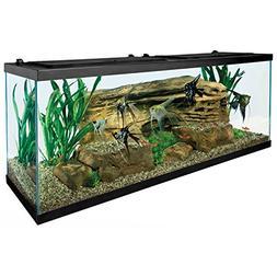 Tetra 55 Gallon Aquarium Kit with Fish Tank, Fish Net, Fish