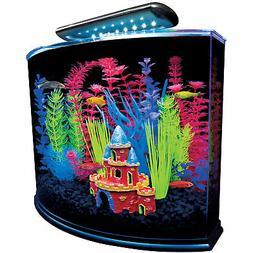 Glofish AQUARIUM KIT LED LIGHT TETRA 20 GALLON GLASS FISH TA