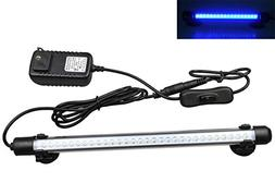 Mingdak LED Aquarium Light for Fish Tanks,30 LEDs,11-inch,Bl