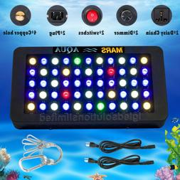 165W LED Aquarium Light Full Spectrum Dimmable Reef Coral Ma