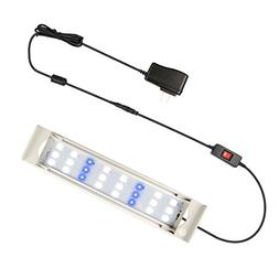 GOOBAT LED Aquarium Lighting, Fish Tank Hood Led Light for P