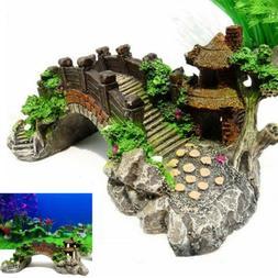Aquarium Ornament Photography Prop Decoration Fish Tank Brid
