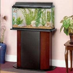 Aquarium Stand Deluxe 20-29 Gallon Tanks Fish Storage Cherry
