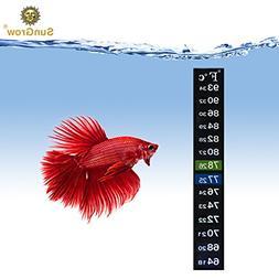Aquarium Sticker Thermometer --- Precise Measurement of Tank