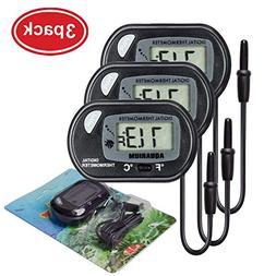 AUTIDEFY LCD Digital Aquarium Thermometer Fish Tank Water Te