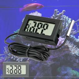 Aquarium Thermometer LCD Digital Fish Tank Water Temperature