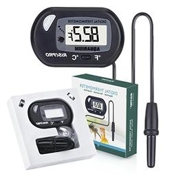 Aquarium Thermometer RISEPRO Digital Water Thermometer For F