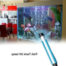 aquarium uv sterilizer light submersible water clean
