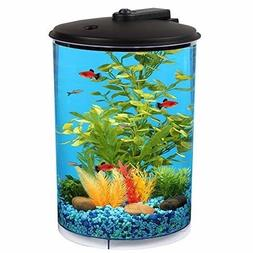 Koller Products AquaView 3-Gallon 360 with Power Filter and