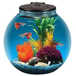 AquaView 3-Gallon Fish Tank with Power Filter and LED Lighti