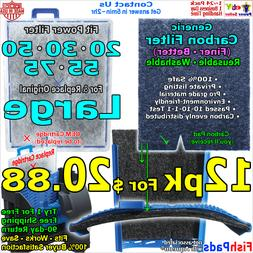 For Aqueon Filter Large Cartridge QuietFlow 20,30,50,55,75 C