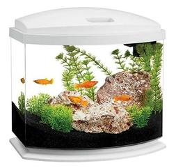 Aqueon LED MiniBow Desktop Kit Aquarium - 5 Gallon - WHITE -