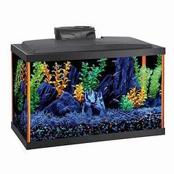 """Aqueon NeoGlow LED Aquarium Kit 10 Gallon Orange 20.5"""" x 10."""