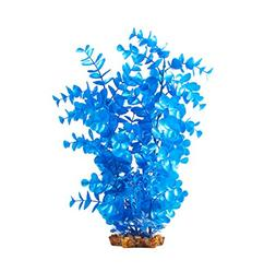 ZAZALUM Artificial Aquarium Plastic Plants Aquarium Decor Or