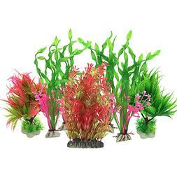 Pietypet Artificial Aquatic Plants, Large Aquarium Plants Pl