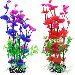 Artificial Plants Fake Aquatic Fish Tank Ornament Decor Aqua