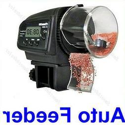 LCD Automatic Aquarium Tank Pond Fish Food Feeder Timer