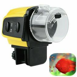 Automatic Auto Fish Tank Food Bowl Feeding Feeder Dispenser
