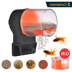 Mylivell Automatic Fish Feeder,Aquarium Tank Timer Feeder Va