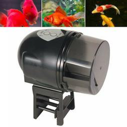 Automatic Fish Food Feeder Aquarium Pond Timer Programmable