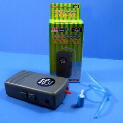 Battery Air Pump + Airline Tubing Airstone - Aquarium Fish T