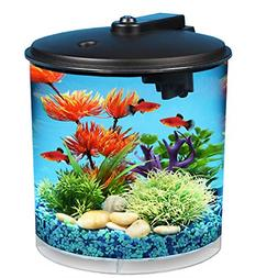 BEST Aqua View 2-Gallon 360 Fish Tank with Power Filter and