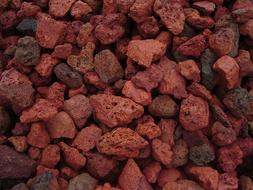 BEST LANSCAPING 18 LB RED LAVA ROCK AQUARIUM SUBSTRATE LOW M