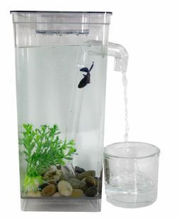 Betta Fish Tank Cleaner Set Accessories Aquarium Bowl Aquati