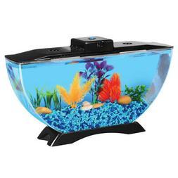Koller Products BettaTank 3.8l Deco Fish Tank with LED Light