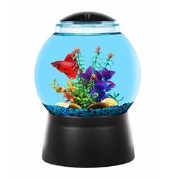 BettaTank 2-Gallon Gumball Fish Tank with LED Lighting