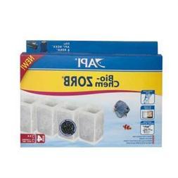 API Bio Chem Zorb Size 4 Filter Cartridge, Pack of 4