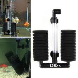 Biochemical Sponge Filter Fry Aquarium Fish Tank Double Spon
