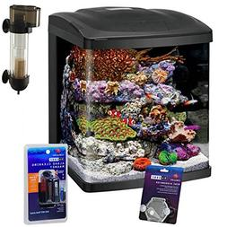 Coralife NEW STYLE Size 16 LED BioCube Aquarium with Protein