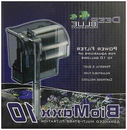 BioMaxx 10 Hang-On Aquarium Filter for Desktop/Betta/Small F